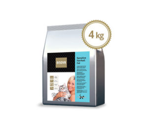 ENOVA SENSITIVE/HAIRBALL CAT 4kg-ticinese-petfood